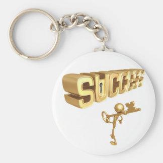 Key to Success Keychain