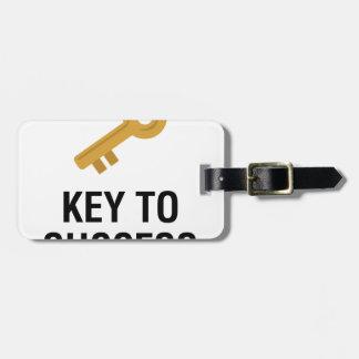 Key to Success Luggage Tag