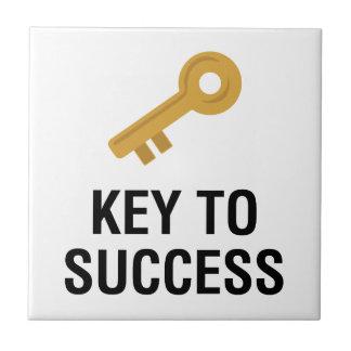 Key to Success Tile