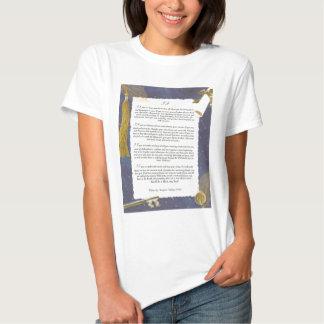 Key To The Future IF by Rudyard Kipling Tshirts
