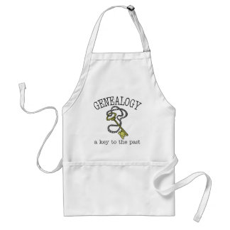 Key To The Past Adult Apron