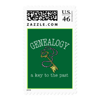 Key To The Past Postage Stamps