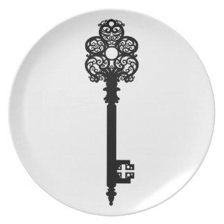 Key V Melamine Plate