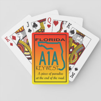 KEY WEST A1A PARADISE PLAYING CARDS