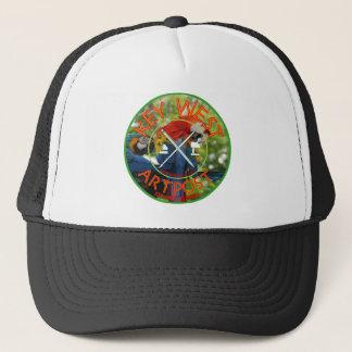 Key West Artpost Trucker Hat