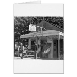 Key West Bait Shop, 1930s Card