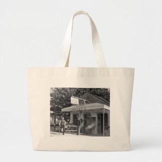 Key West Bait Shop, 1930s Large Tote Bag
