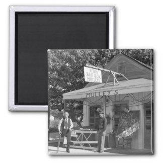 Key West Bait Shop, 1930s Magnet