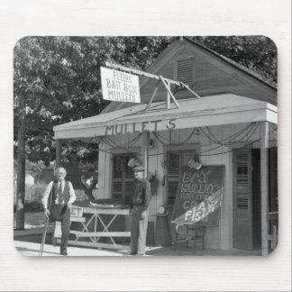 Key West Bait Shop, 1930s Mouse Pad