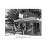 Key West Bait Shop, 1930s Postcard
