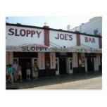 Key West bar Postcard