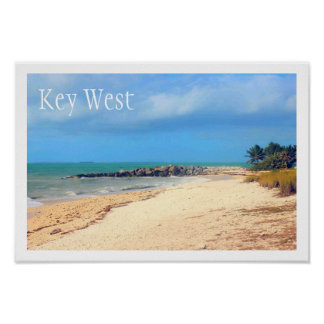 Key West Beach, Fort Zachary Taylor State Park Poster