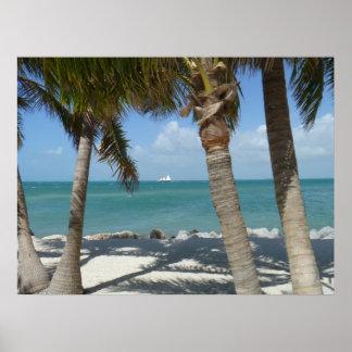 Key West Beach Poster