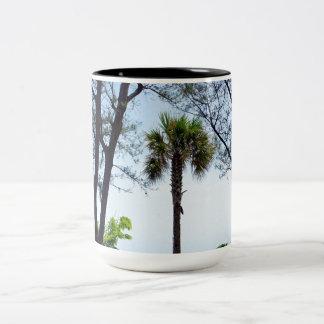 Key West Beach Two-Tone Coffee Mug