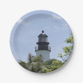 Key West Beacon Paper Plate