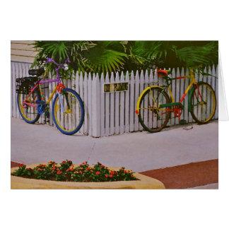 Key West Bikes Stationery Note Card