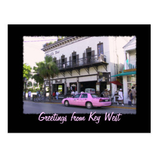 Key West Bull And Whistle Bar Postcard