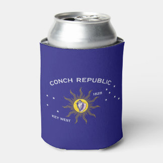 Key West Conch Republic Flag Can Cooler