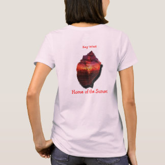 Key West Conch sunset shirt