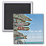 Key West Destination Wedding Save the Date Magnet