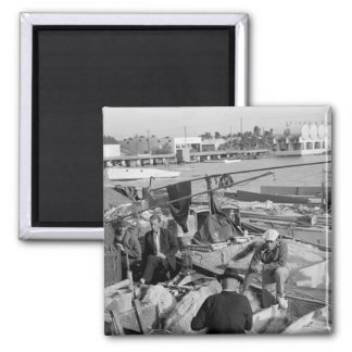 Key West Fishermen, 1930s Magnet