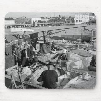 Key West Fishermen, 1930s Mouse Pad