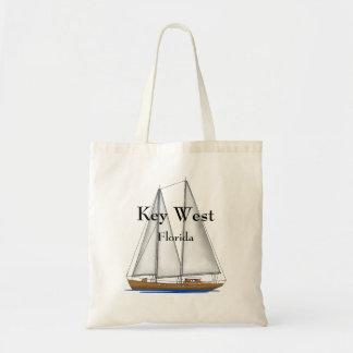 Key West Florida Budget Tote Bag