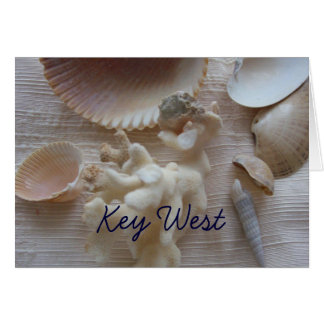 Key West Florida Card