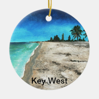key west florida christmas ornament