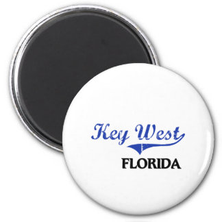 Key West Florida City Classic 2 Inch Round Magnet