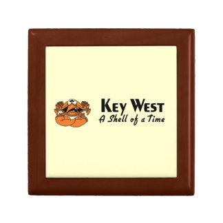 Key West Florida Crab Keepsake Box