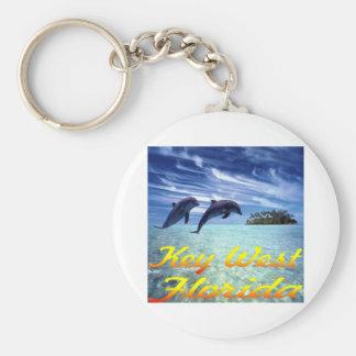Key West Florida Dolphins Keychain
