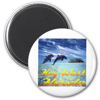 Key West Florida Dolphins Refrigerator Magnets