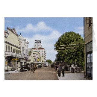 Key West Florida Duval Street Card
