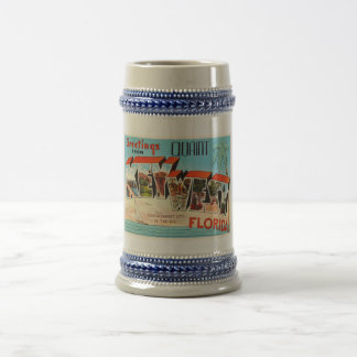 Key West Florida FL Old Vintage Travel Souvenir Beer Stein