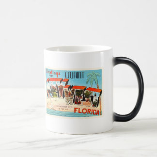 Key West Florida FL Old Vintage Travel Souvenir Magic Mug