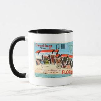Key West Florida FL Old Vintage Travel Souvenir Mug