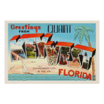 postcard, key west, florida, vintage postcard, old