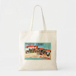 Key West Florida FL Old Vintage Travel Souvenir Tote Bag