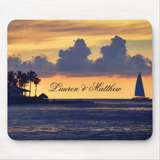 Key West Florida ... get away from it all Mouse Pad