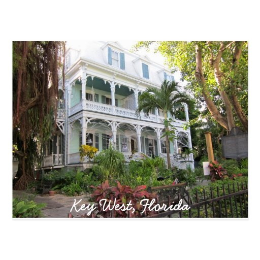 Key West Florida Home Post Cards
