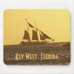Key West Florida Keys Clipper Ship MousePad Photo