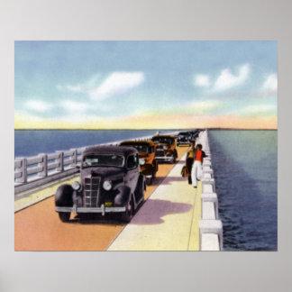 Key West Florida Overseas Highway Poster