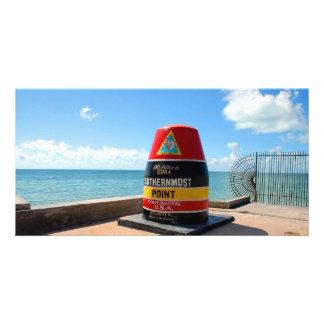 Key West, Florida Southernmost Point landmark Card