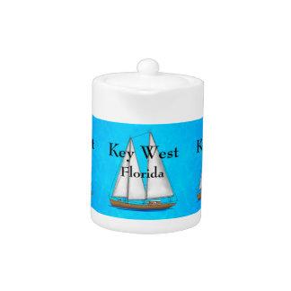 Key West Florida Teapot