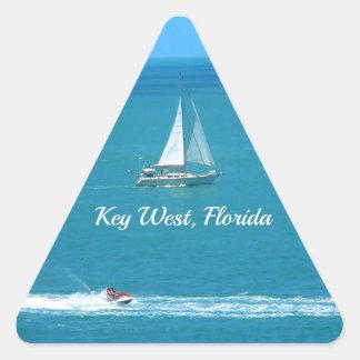 Key West, Florida Triangle Sticker