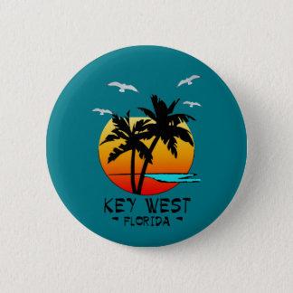 KEY WEST FLORIDA TROPICAL DESTINATION BUTTON