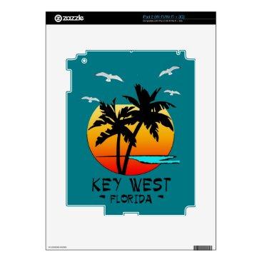 Beach Themed KEY WEST FLORIDA TROPICAL DESTINATION iPad 2 SKINS