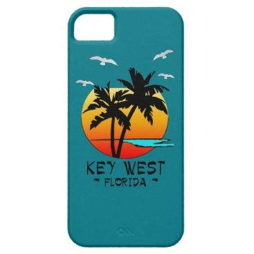 Beach Themed KEY WEST FLORIDA TROPICAL DESTINATION iPhone SE/5/5s CASE