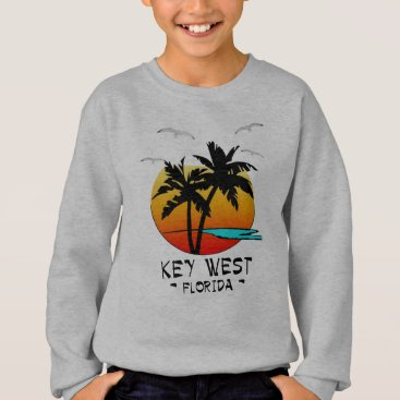 Beach Themed KEY WEST FLORIDA TROPICAL DESTINATION SWEATSHIRT
